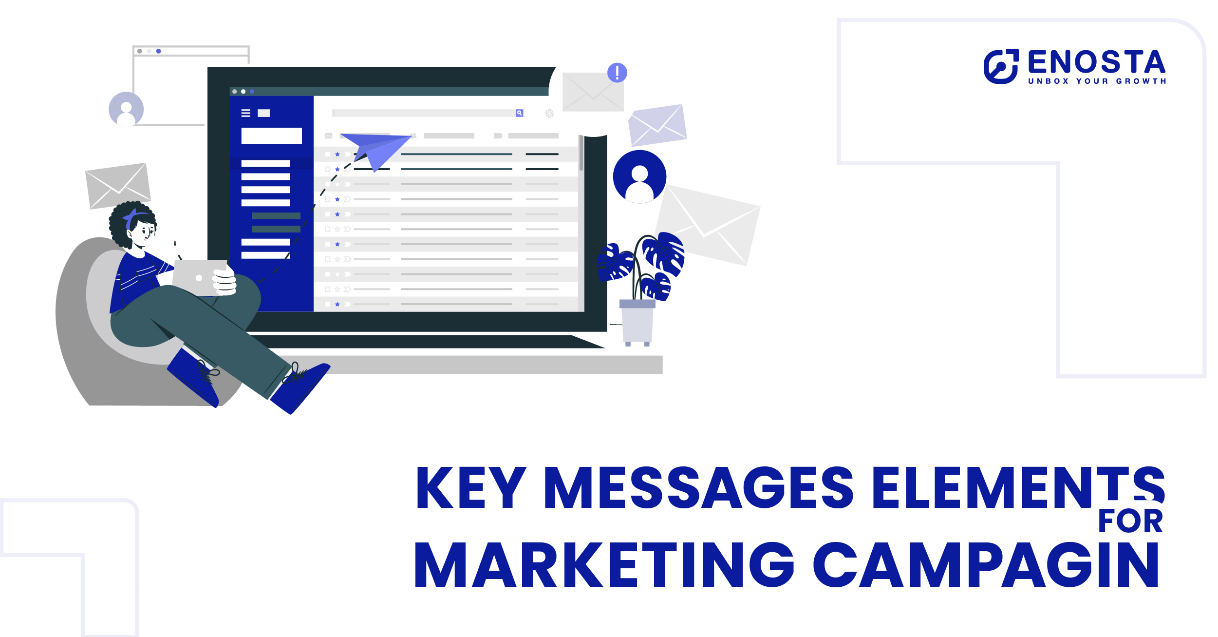 key message elements for marketing campagin