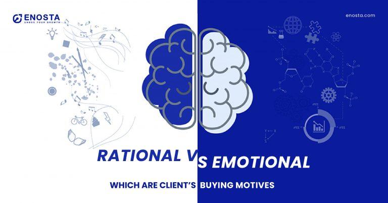 rational and emotional buying motives